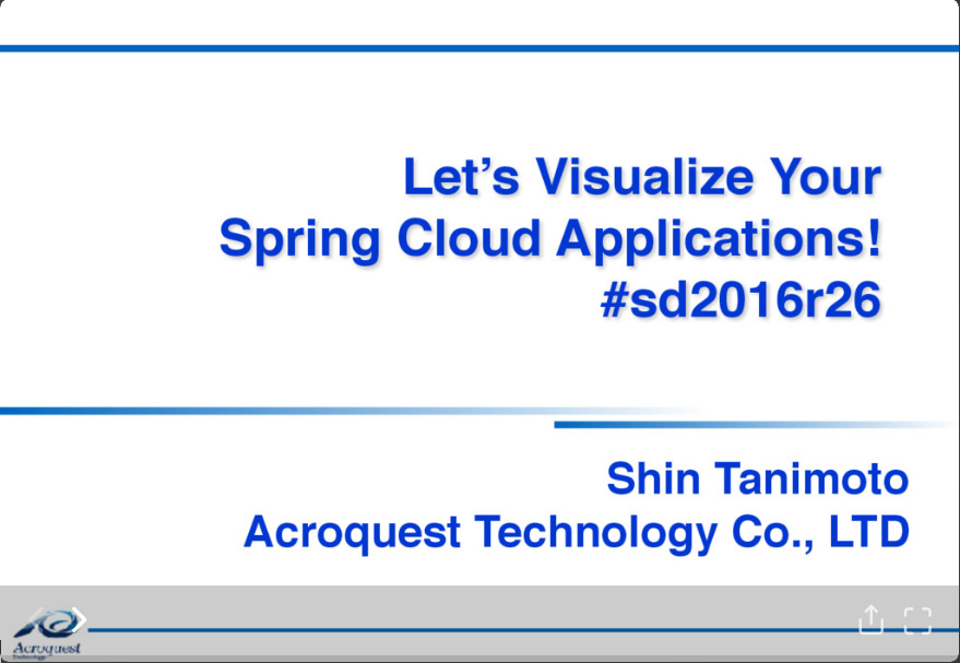 Let's visualize your Spring Cloud Applications!